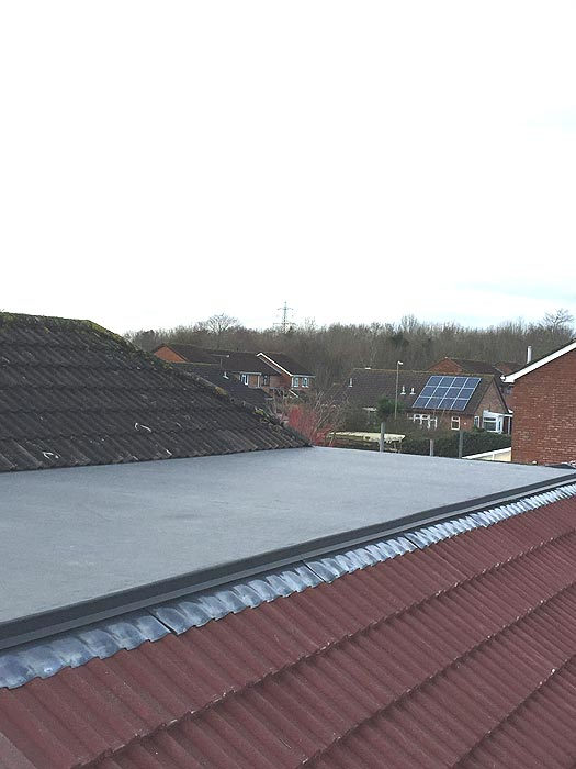Flat Roof project by MD Roofing Services
