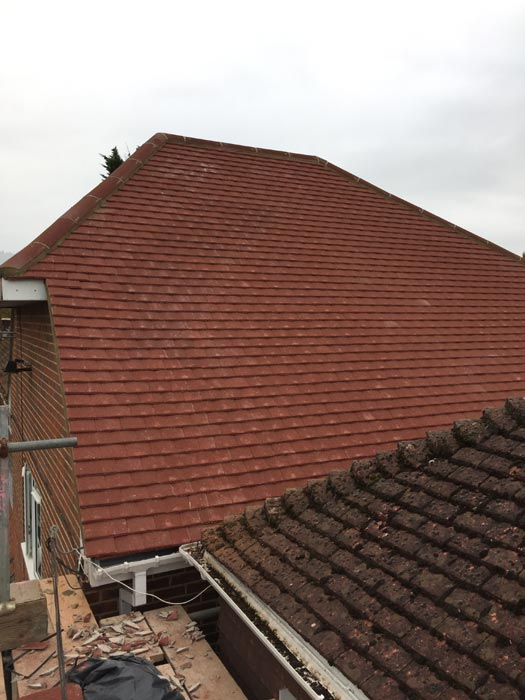 Roof project by MD Roofing Services