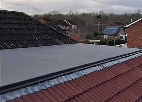 Flat roof repair specialists in Hampshire